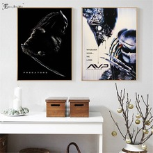 Predator Killer Black Movie Figure On Sale Poster Wall Paint Living Room Abstract Canvas Art Pictures For Home Decor No Frame