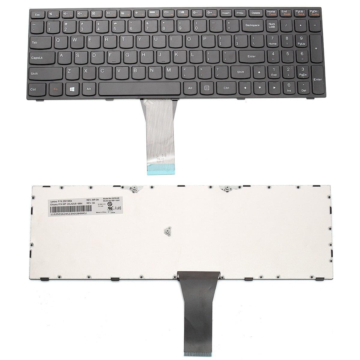 New For Lenovo B50-30 G50-30 G50-45 G50-70 G50-80 Z50-70 Laptop Keyboard 25214785 Key Caps Sets Late 2017 Mid 2018