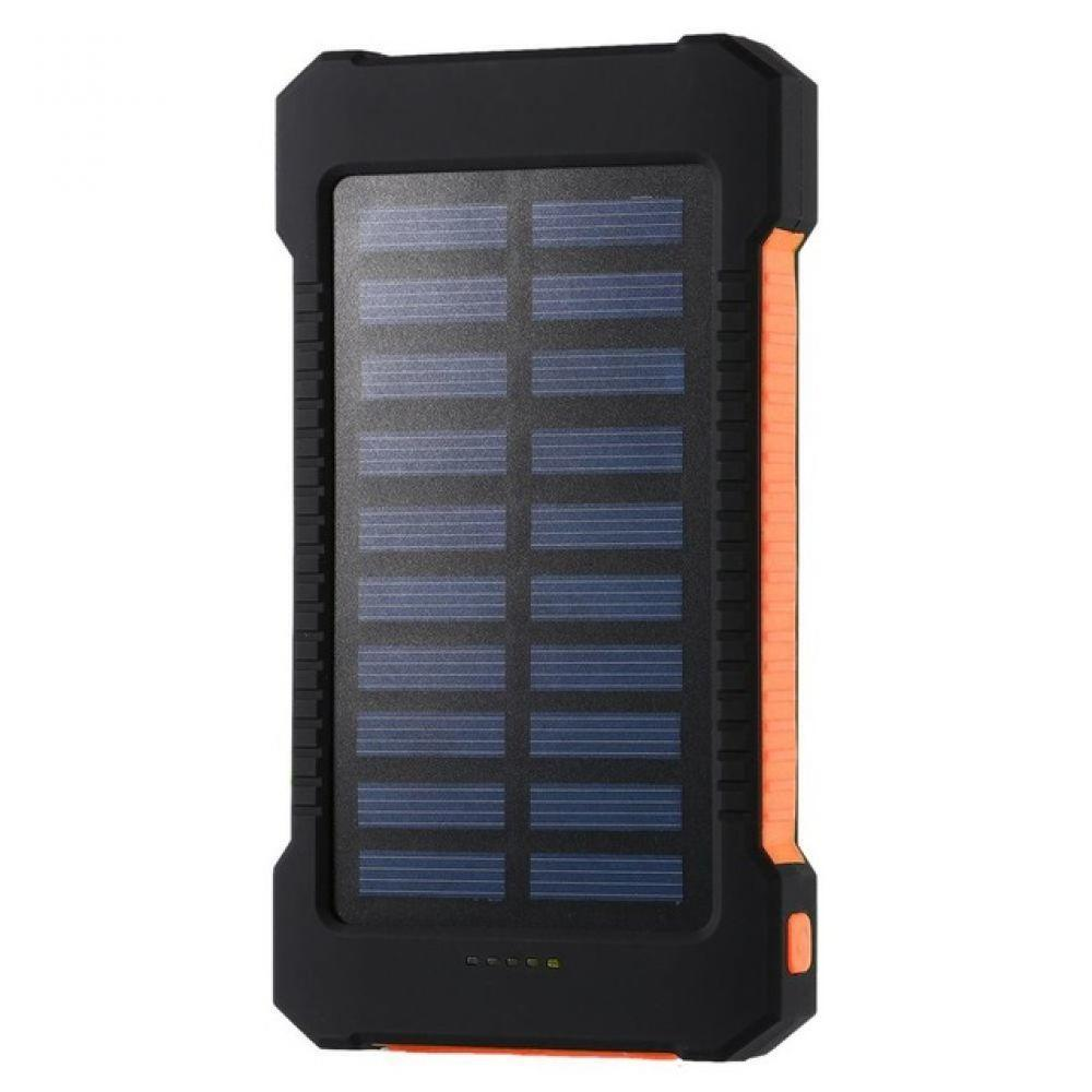 Banco de energía Solar portátil 30000 mah impermeable batería de respaldo externa Powerbank 30000 mah cargador de batería del teléfono LED Pover banco