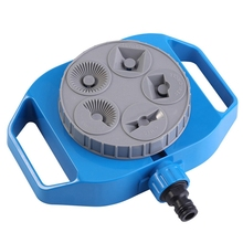 Plastic Automatic Rotation Adjustable Water Sprinkler Irrigation System For Lawn Plants Flowers Gardening Supplies Big Spray