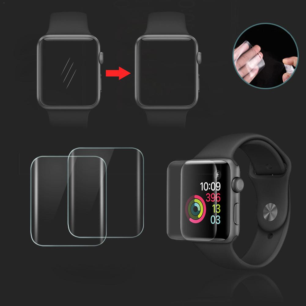 Image 5 - 2PCS 3D Full Screen Scratch Resistant Soft Screen Protector Film Hydrogel Film For IWatch Apple Watch 1 2 3 Series 38mm 42mm New-in Smart Accessories from Consumer Electronics