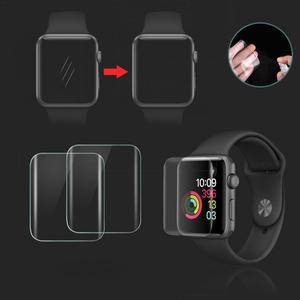 Image 5 - 2PCS 3D Full Screen Scratch Resistant Soft Screen Protector Film Hydrogel Film For IWatch Apple Watch 1 2 3 Series 38mm 42mm New