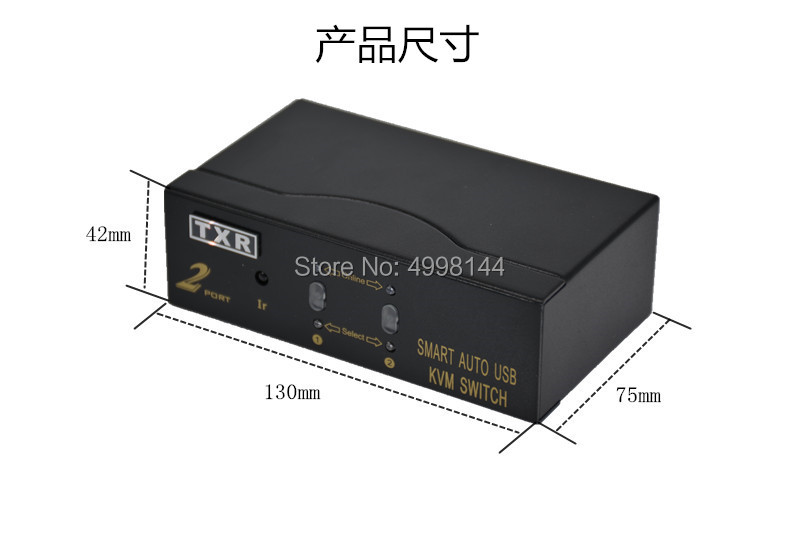 16 Port USB HDMI KVM Switch16 Computer Host Monitoring Sharing A Set Of Mouse And Keyboard Display HD 1080P With Cable