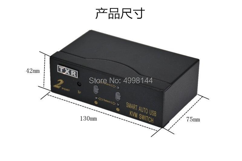 16 ports USB HDMI KVM switch16 surveillance de l'hôte de l'ordinateur partage d'un ensemble d'affichage de la souris et du clavier HD 1080 P avec câble