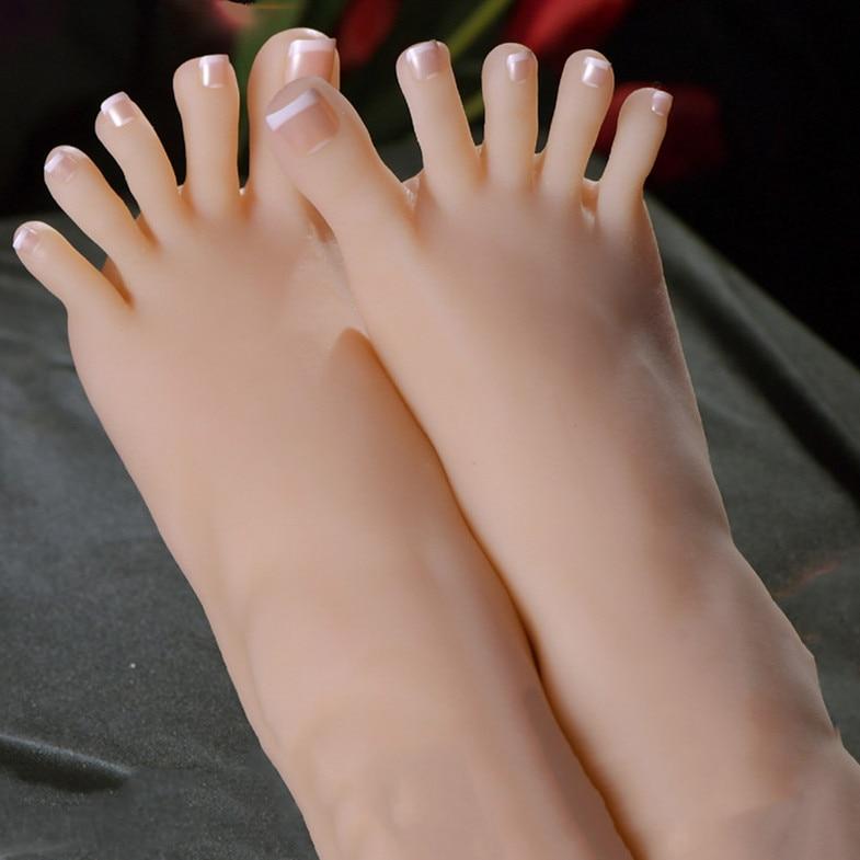 KnowU 1pcs Destra o Sinistra Modello piede Femminile 3D Flessibile Adulti Mannequin piede Falso Texture Della Pelle Modello di Visualizzazione Modelo манекенщица su AliExpress - 11.11_Doppio 11Giorno dei single 1