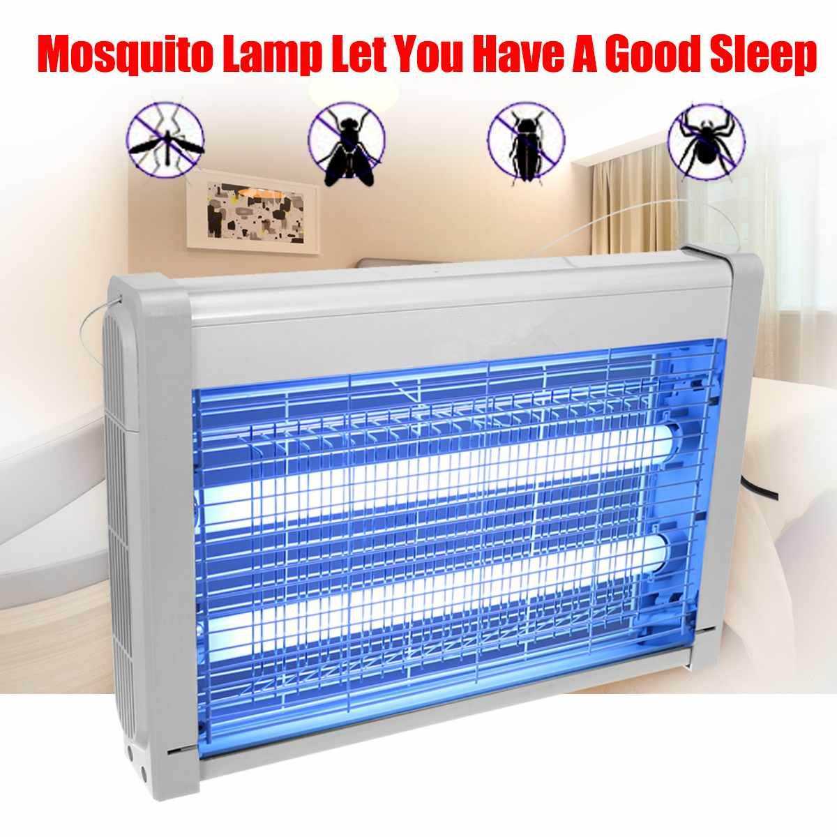 220V 20W Insect Killer Electric Mosquito Killer Trap Light