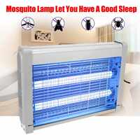 220V 20W Insect Killer Electric Mosquito Killer Trap Light Fly Wasp Bug Insect Zapper Trap Catcher Lamp for Home Room Garden