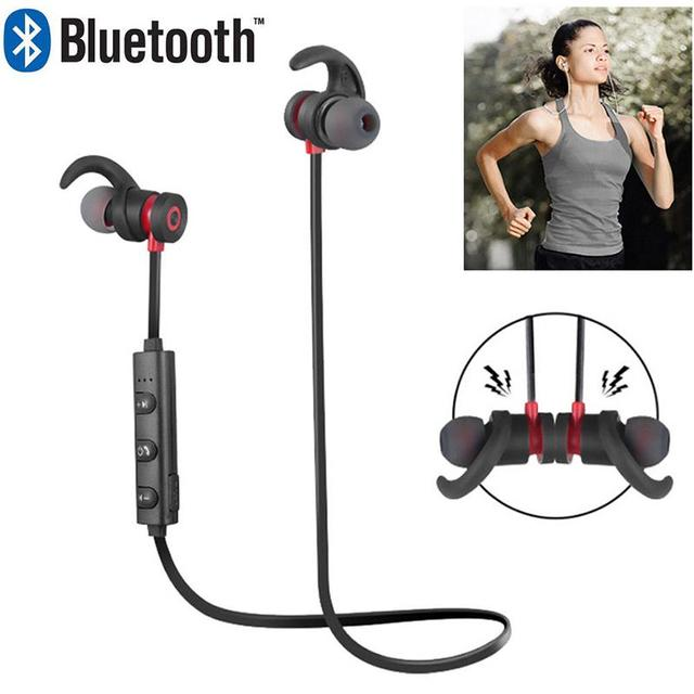 EastVita Wireless Bluetooth Earphone Sports Running Headset Magnetic Earphone Waterproof In Ear Headphones For iphone Xiaomi