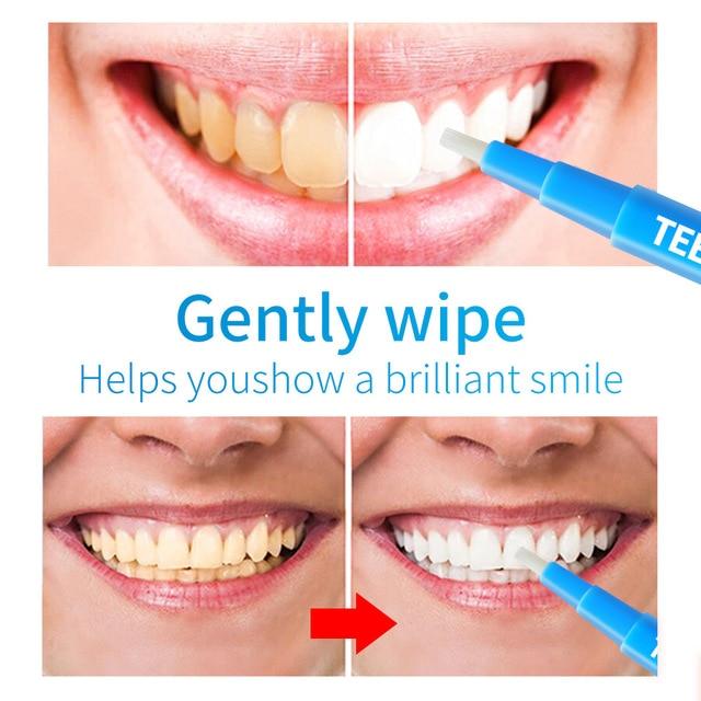 Women /Men 3ML Teeth Whitening Pen Mild No stimulation Dental Teeth Whitening Gel Pen Tooth Cleaning Pens Brush Product TSLM2