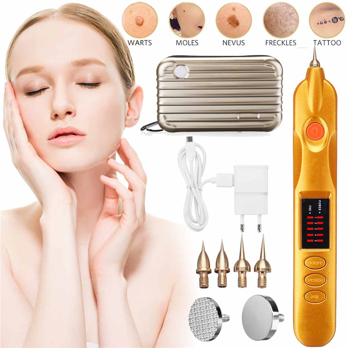 Laser Micro Plasma Pen Eyelid Lift Freckles Acne Skin Tag Dark Spot Remover For Face Tattoo Removal Machine Picosecond Therapy