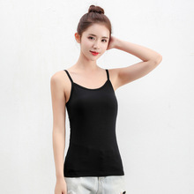 Modal comfortable and breathable bottoming Camisole Vest Woman Short Small large size camis girls summer
