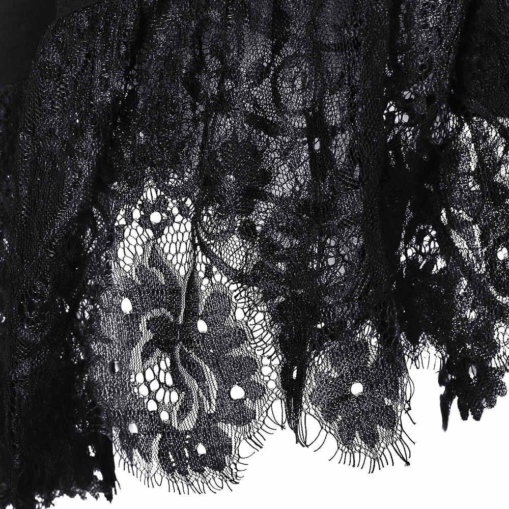 Lortalen Plus Size Lace Irregular Hem Belted T-Shirt Women T-Shirts Winter Spring Casual Long Sleeve Ladies Tops Big Size