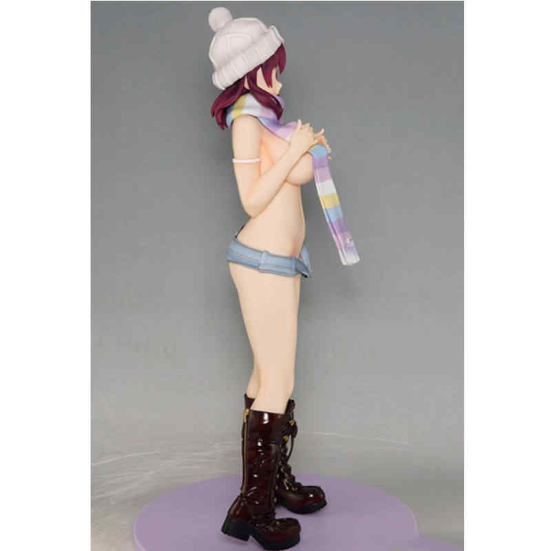 Daiki Anime Sexy Girl Action Figure Suzutsuki Kurara Illustration Poster Girl Kurara chan  Painted Sexy Girl Collection Doll