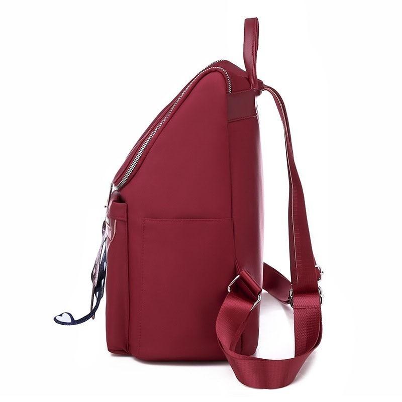 Image 2 - Women Anti Theft Backpack Waterproof Zipper School Bag Backpacks For Teenagers Girls Multifunction Student Backpack RucksackBackpacks   -