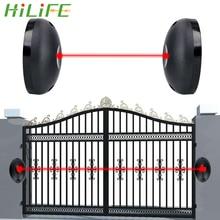 Single Beam Infrared Radiation Sensor Barrier For Gates Doors Windows External Positioning Alarm Detector Against Hacking System