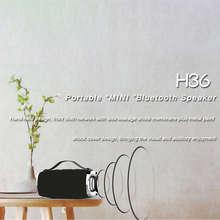 Outdoor Portable Waterproof Wireless Small Loudspeaker HOPESTAR H36 Mini Bluetooth Speaker  Hifi Bass Sound 3D Stereo Music Tf