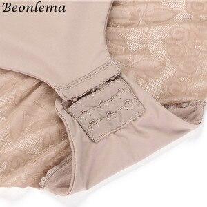 Image 5 - Beonlema Frauen Sexy Körper Shapewear Push Up Body Femme Butt Lifter Shaper Körper Gestaltung Öffnen Gabelung Abnehmen Unterwäsche S XL