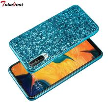 Fashion Glitter Case For Samsung Galaxy A70 A50 A40 A30 A10 Phone Cases Shinning Bling Sequins Back Cover for