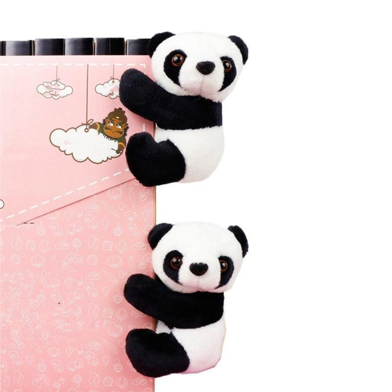 Panda Note Clip Cute Memo Plush Toys Bookmarks Notes Clips Bookmark Letter Paper Clip