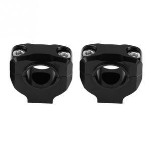 Image 3 - 1 para kierownica motocykla montaż zacisku podnośnik podnośnik do kierownicy 28mm kierownica motocykla podnośnik kierownicy podnośnik do kierownicy zacisk ze stopu aluminium uniwersalny