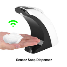 300ml LCD Automatic Soap Liquid Dispenser Infrared Sensor Sanitizer liquid soap Container Touch-free Bottle for Bathroom