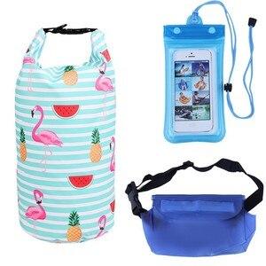 10L Waterproof Bag Set Kayak D