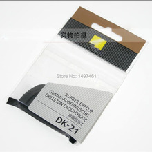 Visor de goma con DK 21 DK21 para Nikon d600 D610 D7000 D90 D200 D80 D750 SLR, visor original y genuino