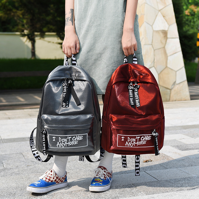 Shoulder Bag Nylon Fashion Students Outdoor Travel Shoulders Backpacks Women Young Girls