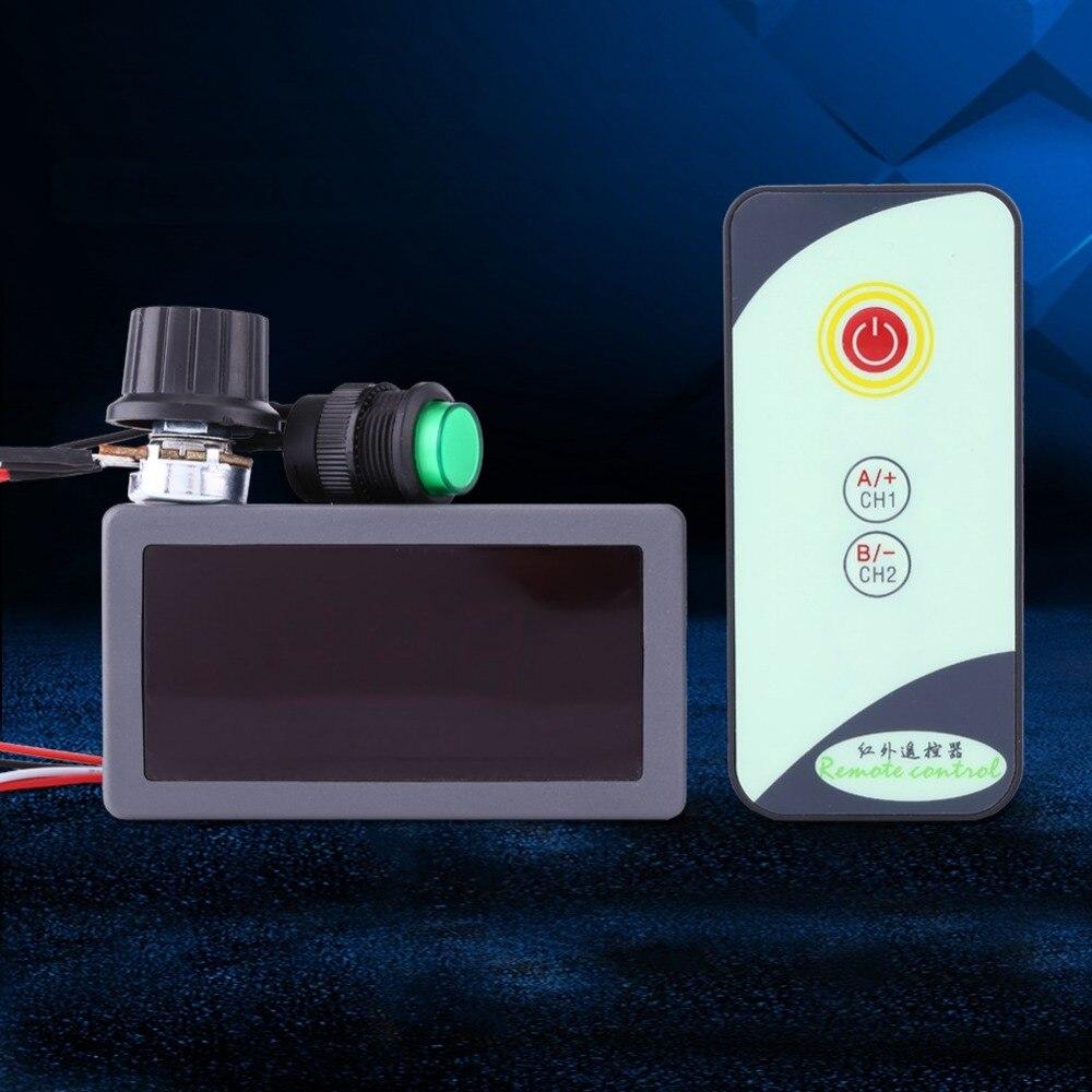 Image 5 - Durable DC 6V 12V 24V 5A/5A PWM Motor Speed Regulator Digital LED Display with IR Remote Controller Variable High Quality.Motor Controller   -