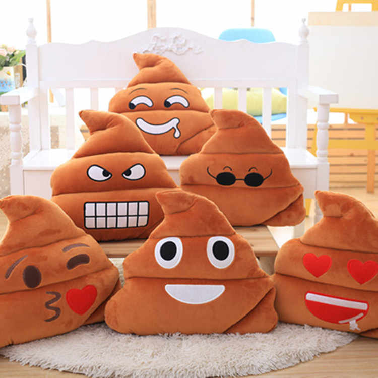 20 см фекалий ведро Подушка, плюшевые игрушки изо всех сил куклы креативные милые улыбающийся дурачина плюшевая игрушка-подушка милая детская подушка для сна игрушки