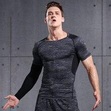 Willarde Для Мужчин's Спортивные Компрессионные рубашки с длинным рукавом Фитнес спортивные топы быстросохнущая для пробежки тренировки работает футболки для кроссфита