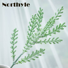 Dream House DH FS137336 fake Antler Leaf 5pcs/ lot artificial leaves greenery for home decoration grass garden decor