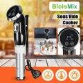 Biolomix 1500 Вт вакуумная Медленная Плита для готовки мощный погружной циркулятор ЖК-цифровой таймер из нержавеющей стали для домашней плиты