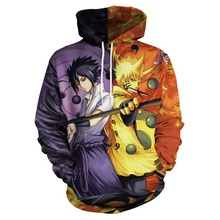 Anime Naruto Around 3d Printing Hooded Sweater Japanese Cosplay Costumes Costume Accessories Unisex