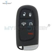 Чехол для смарт ключей remtekey 68159657 4 + 1 кнопка dodge