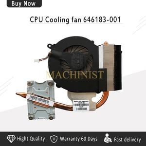 New Laptop radiator For HP 2000 CQ43 430 431 435 436 CQ57 630 631 Heatsink CPU Cooling fan cooler 646183-001 646181-001(China)