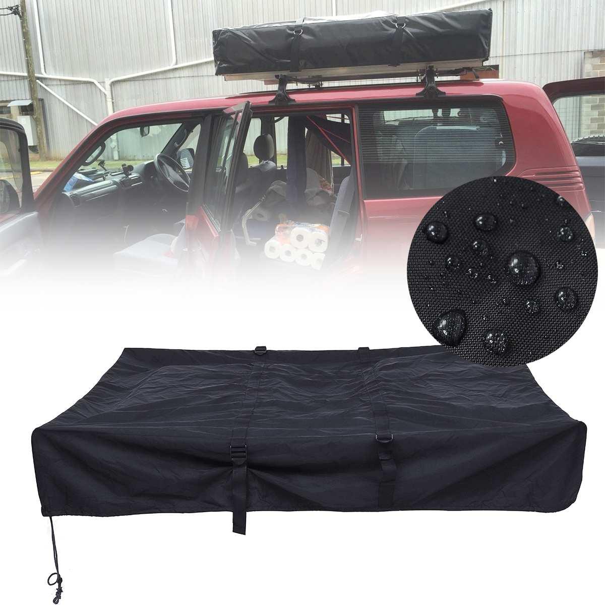 1.4x1.2M-Camper Trailer Travel Cover  Black Rooftop Roof Top Tent Travel Cover-Camper Trailer 4X4 Camping Waterproof