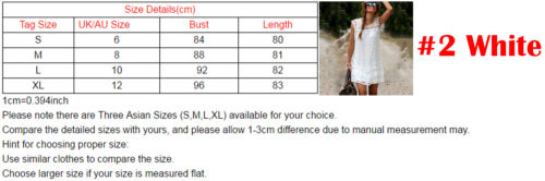 Summer Dresses HOT Women Summer Casual White Lace Patchwork Sleeveless O Neck Loose Mini Dress Size S XL in Dresses from Women 39 s Clothing