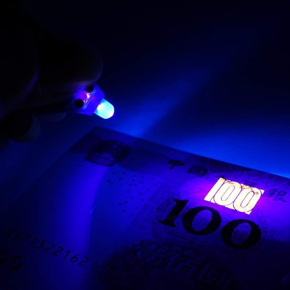 Мини светодиодный фонарик для ключей ультра яркий светодиодный брелок маленький портативный ключ R-ing УФ-фонарь с крюком для прогулок кемпинга 5 шт