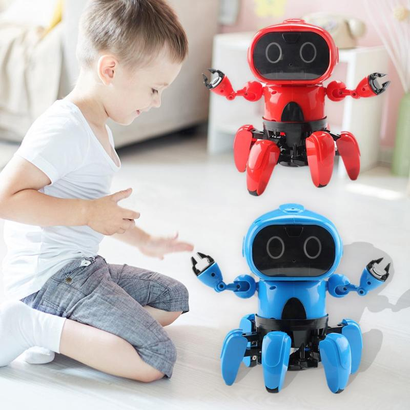 Remote Control Robot Toy Smart Child RC Robot Intelligent Programmable Walking Dancing Smart Robot Toy for Children ToysRemote Control Robot Toy Smart Child RC Robot Intelligent Programmable Walking Dancing Smart Robot Toy for Children Toys
