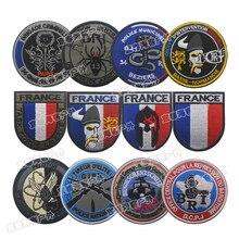 Французская серия вышивка патч, вышитые патчи Военная Тактическая нарукавная повязка ткань наклейка аксессуары для одежды