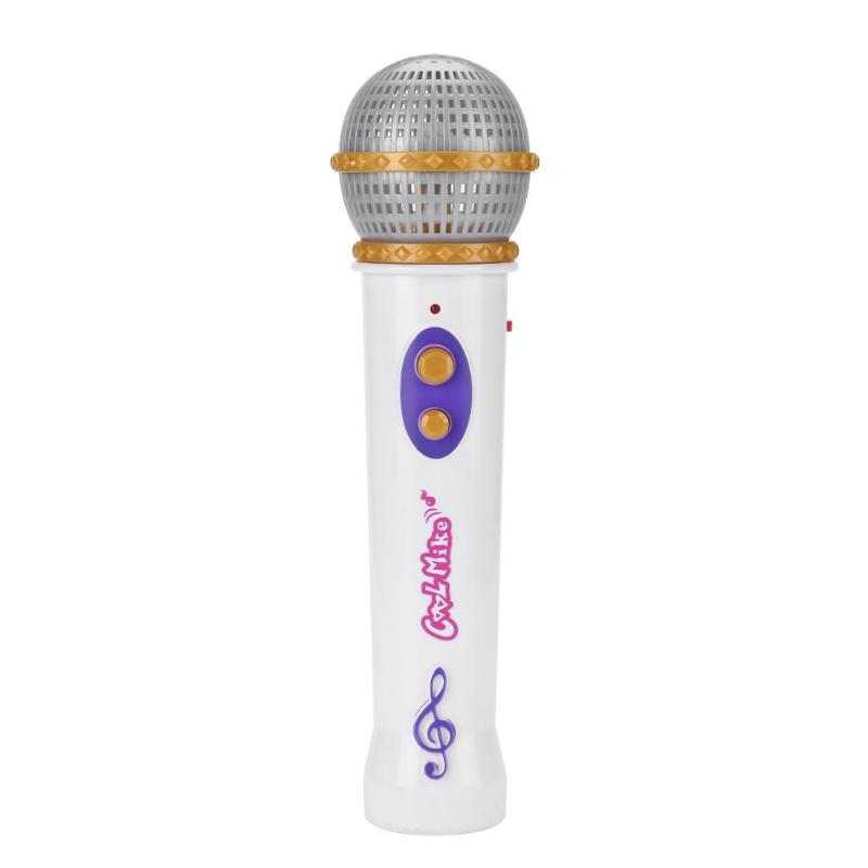 Kids Simulation Microphone Music Toy Mic Karaoke Singing Pretend Play Gift Funny Toys Boys Music Toys Gift