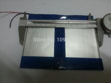 Batterie ultra-fine de grande capacité, 7.4V, 6.6 Ah, 8000 mah, pour tablette (épaisse), 3.5 x (large), 140x110mm (longue), livraison gratuite