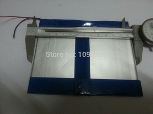 Free shipping 7.4V 6.6 Ah 8000 mah large-capacity ultra-thin MID tablet battery (thick) 3.5 * (wide) 140 * 110 mm (long)
