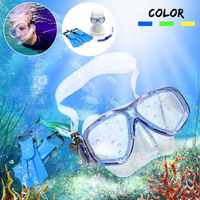 Summer Kid Children Snorkel Mask Scuba Goggles + Breathing Tube + Webbed Feet Swimming Diving Set Swinming Pool Water Fun Toys