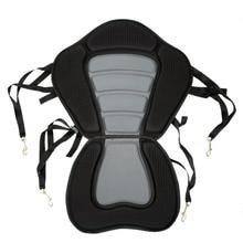 Мягкое сиденье для Каяка гребная лодка мягкая нескользящая Мягкая база регулируемая спинка с лодочной подушкой