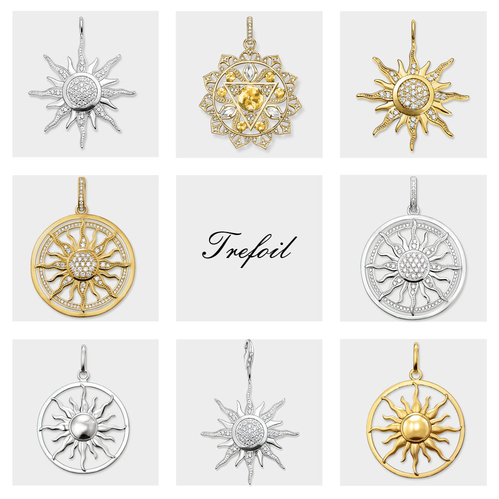 CZ Pave Sun Charm Pendants,2019 Brand New Fashion Jewelry 925 Sterling Silver Trendy Gift For Women Men Boy Girls Fit Necklace