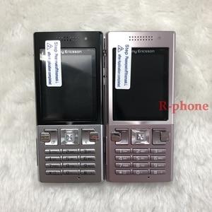 Image 2 - Sony Ericsson Original T700 téléphone portable 3G Bluetooth 3.15MP remis à neuf un an de garantie
