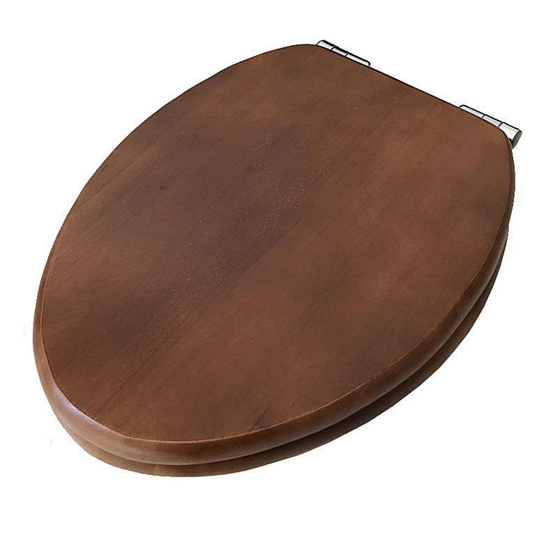 Thickened solid wood buffer toilet seats V type slow Close toilet seats cover toilet seats lid
