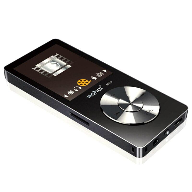 Mahdi 8 Gb Hifi lecteur Mp3 sans perte Fm vidéo E-Book enregistreur fonction horloge Sport 1.8 pouces Tft écran lecteur de musique
